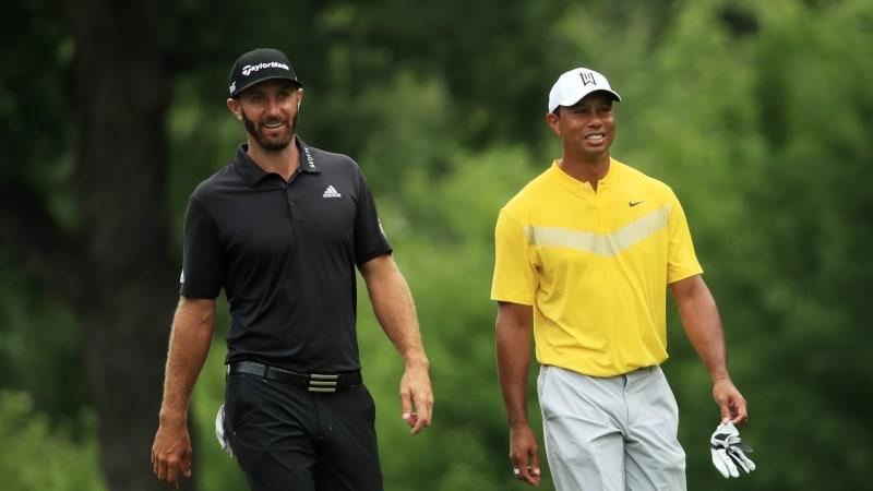 Dustin Johnson wird nicht bei Tiger Woods' Hero World Challenge dabei sein. (Foto: Getty)