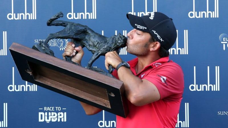 Pablo Larrazabal gewinnt die Alfred Dunhill Championship 2019 der European Tour. (Foto: Getty)