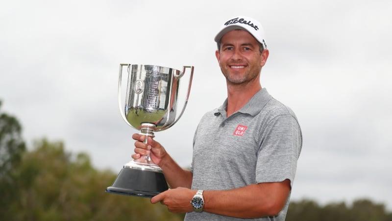 Adam Scott gewinnt die Australian PGA Championship der European Tour. (Foto: Getty)