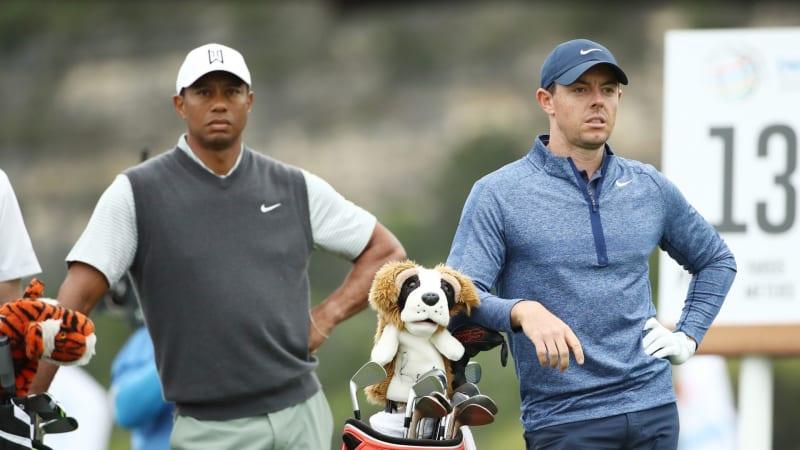 Tiger Woods und Rory McIlroy lehnen die Teilnahme beim Saudi International 2020 der European Tour ab. (Foto: Getty)