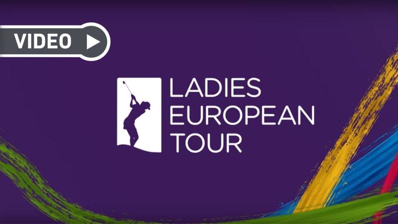 Der Jahresrückblick 2019 der Ladies European Tour. (Screenshot: Youtube.com / @Ladies European Tour)