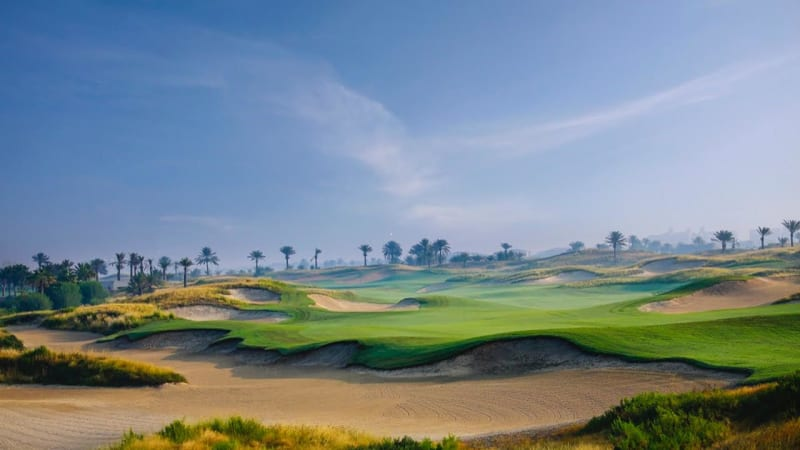 ( Foto Saadiyat Beach Golf Club: Loch Nummer Neun)