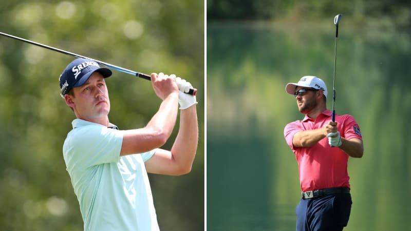 Andrew Putnam und Corey Conners eröffnen die erste Runde der QBE Shootout. (Foto: Getty)