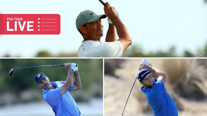 PGA Tour Tiger Woods Jon Rahm Matt Kuchar (Foto: Getty)