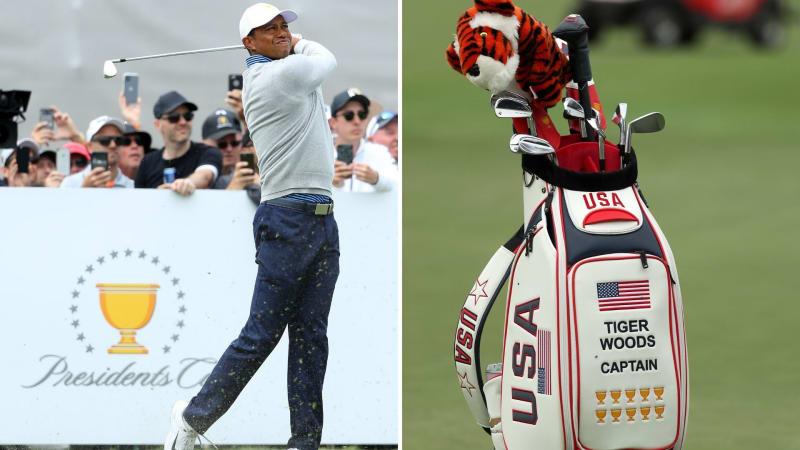 Wir werfen einen Blick in das Bag von Tiger Woods beim Presidents Cup 2019. (Foto: Getty)