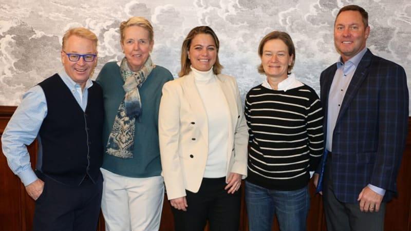 In einem Gremium verabschiedeten die Verantwortlichen den neuen Ladies European Tour Turnierplan für 2020. (Foto: LET)