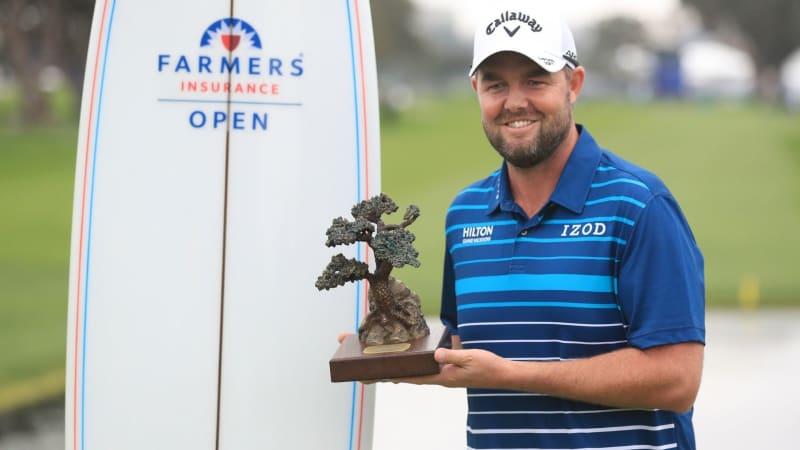 Marc Leishman freut sich am australischen Nationalfeiertag über seinen Sieg auf der PGA Tour. (Foto: Getty)