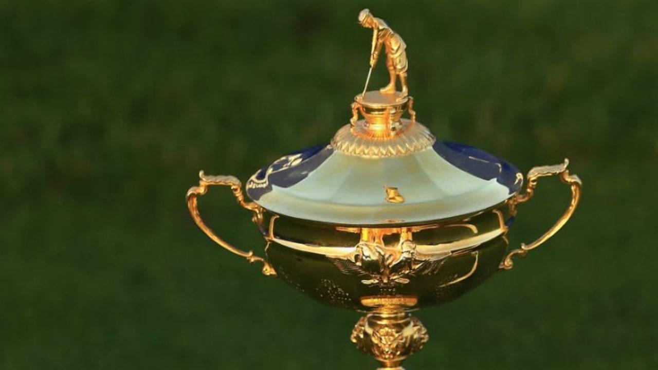 Der Ryder Cup wurde von Samuel Ryder gestiftet. (Foto: Getty)