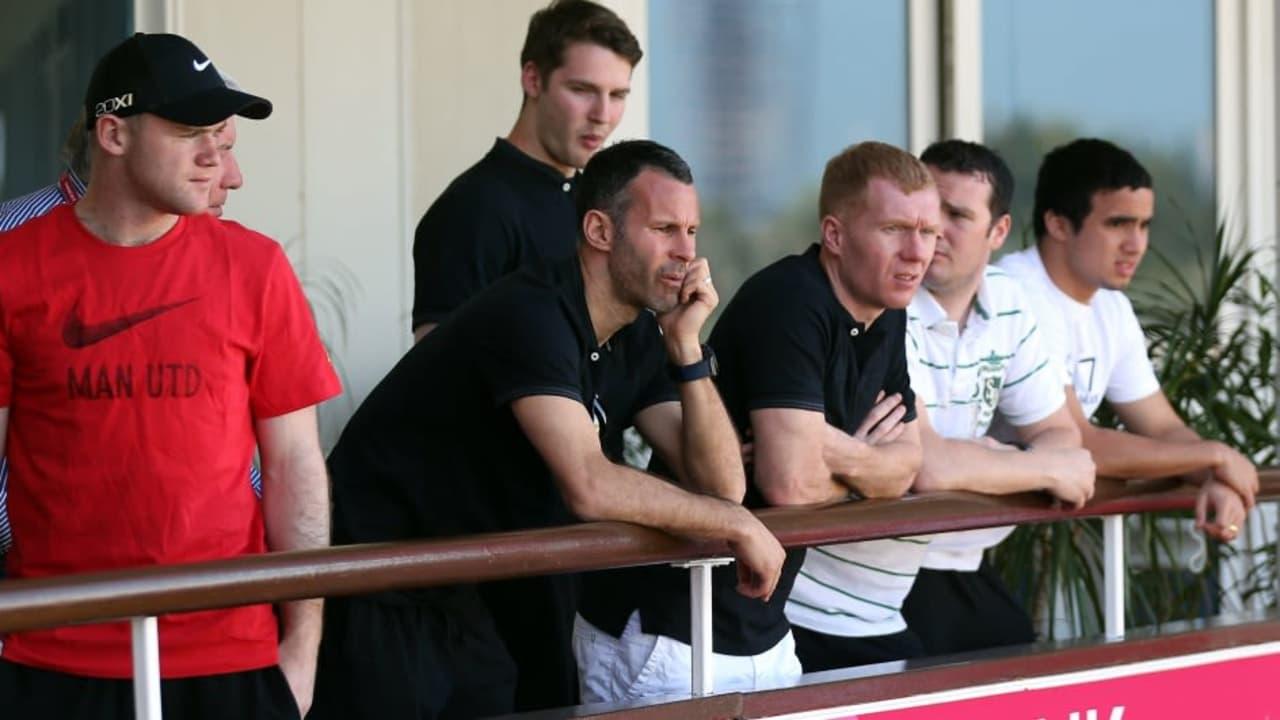Wayne Rooney in Qatar