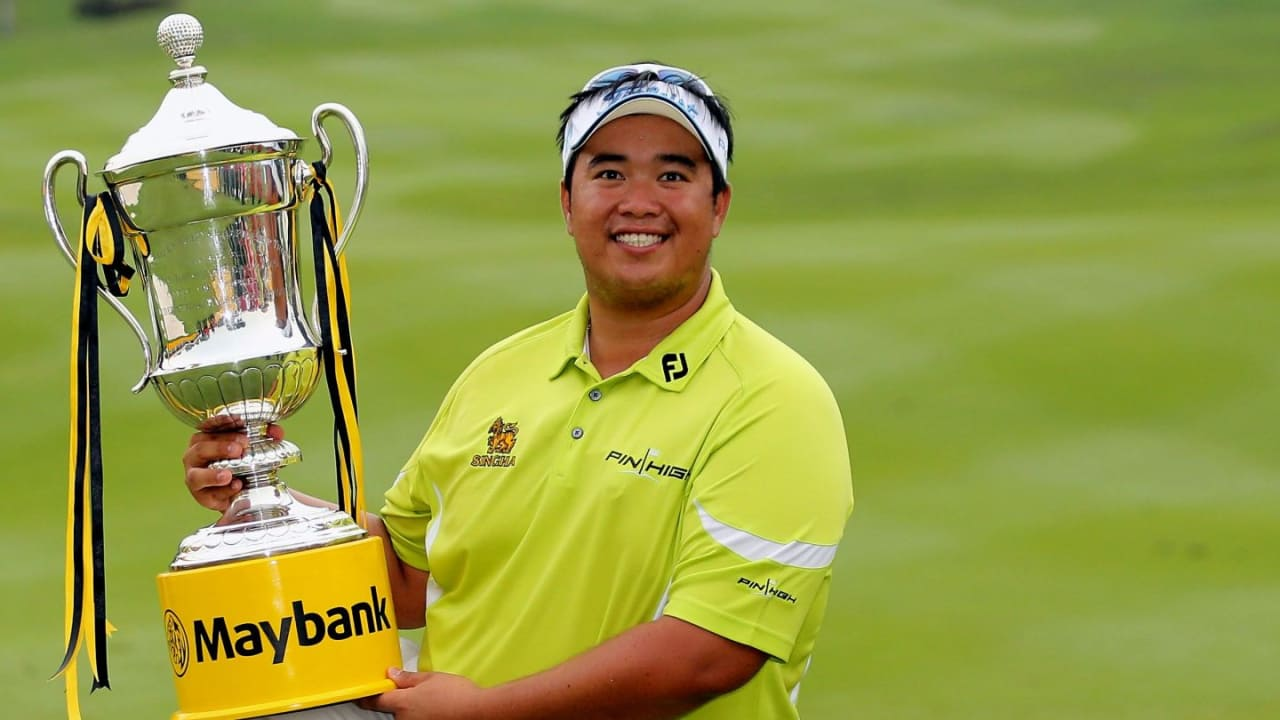 Strahlender Sieger der Maybank Malaysian Open: Kiradech Aphibarnrat. (Foto: Getty)