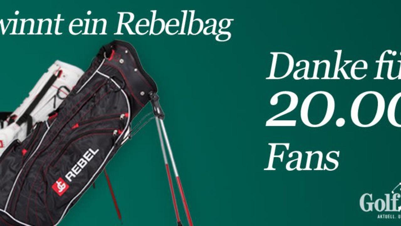 Rebel Standbag Jordan Golf