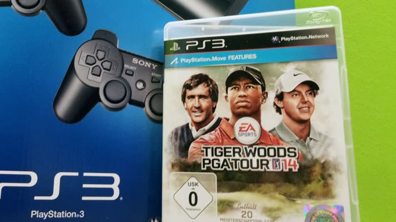 Playstation 3 + TIger Woods PGA Tour 14