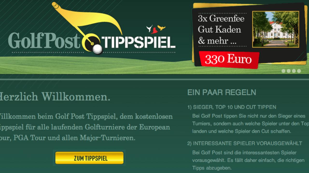 Golf-Tippspiel