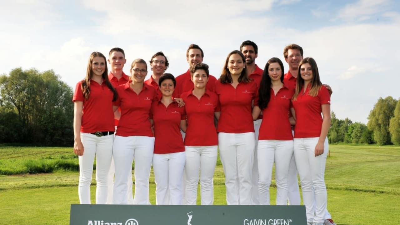 Die Damenmannschaft des Golfclub St. Leon-Rot
