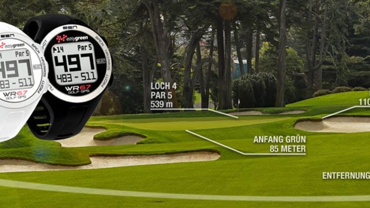 Entfernungsmesser Uhr : ⛳ wr gps golf uhr im test entfernungsmesser golflaser vs