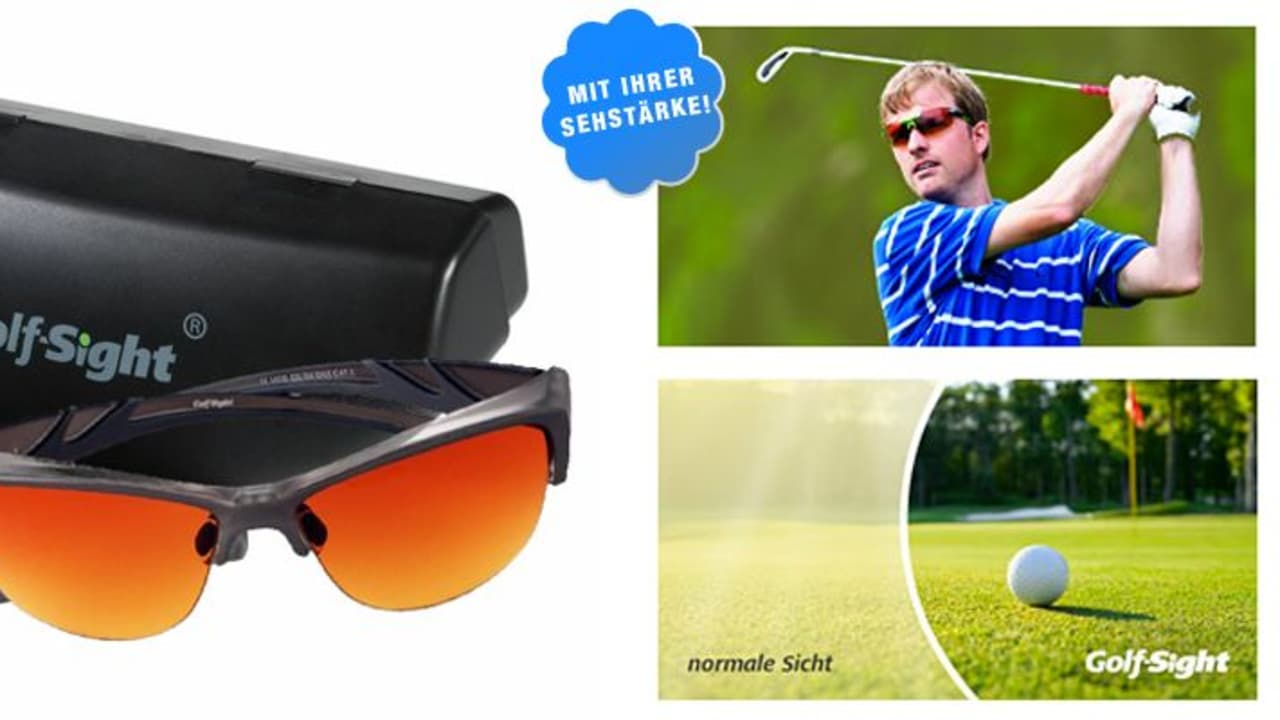 Golf-Sight verlost 5x1 Golferbrille