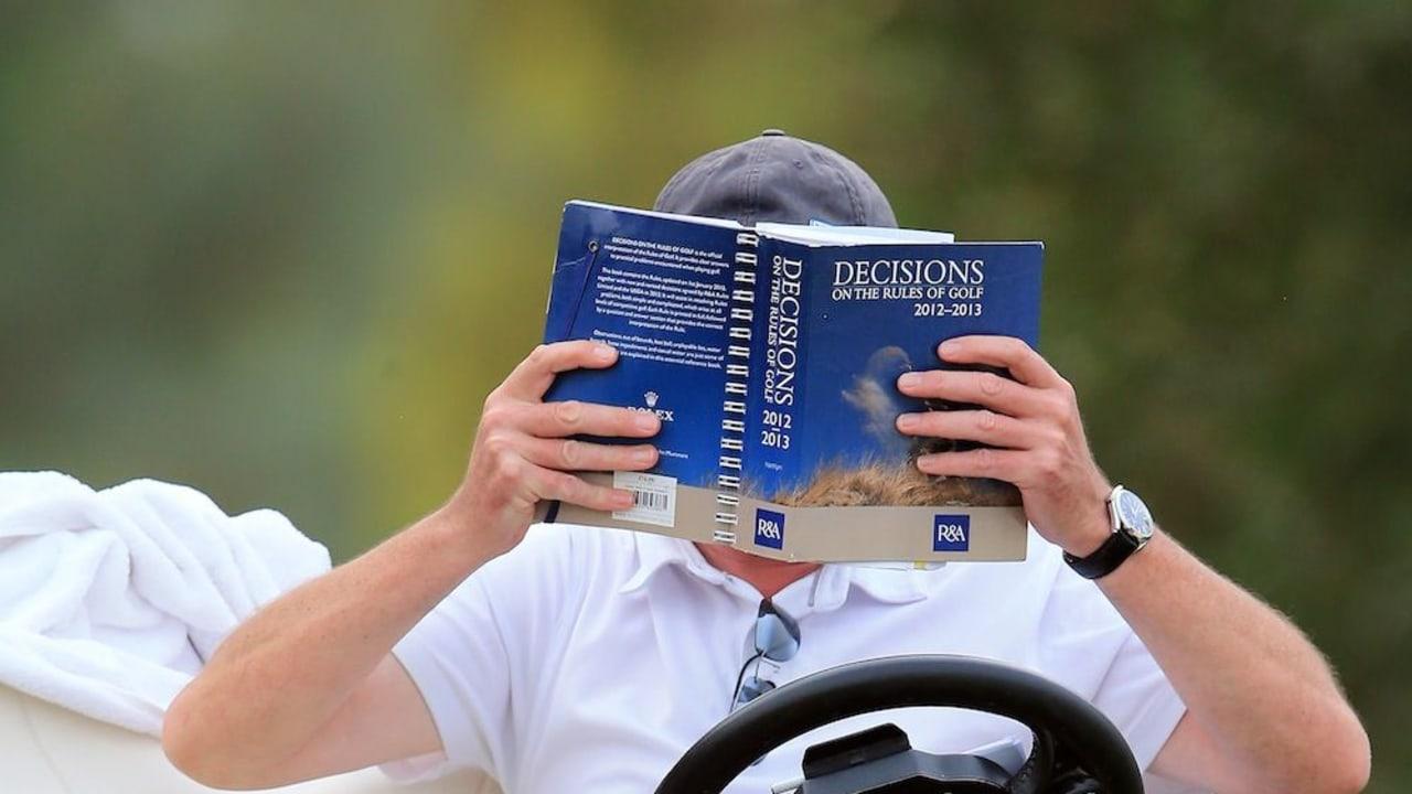 Golfregeln Entfernungsmesser : Golf geschichte die allerersten golfregeln