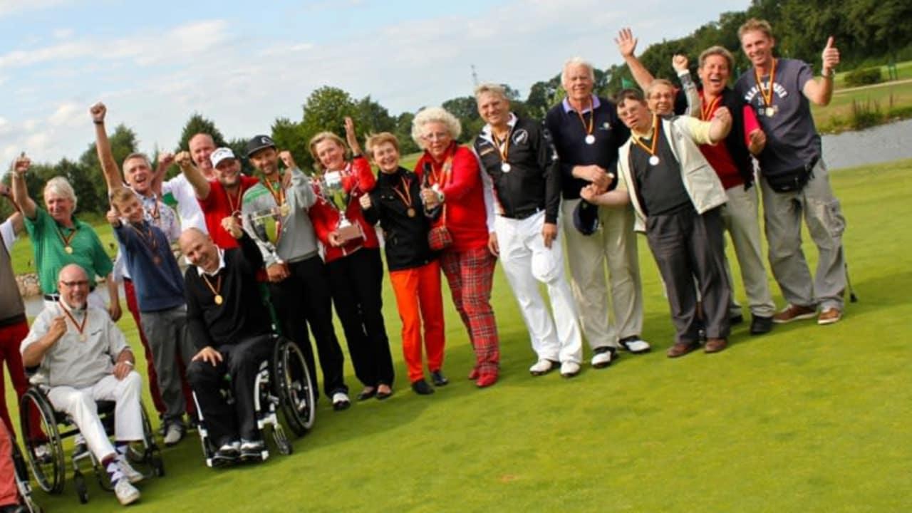 DM der Golfer mit Behinderung