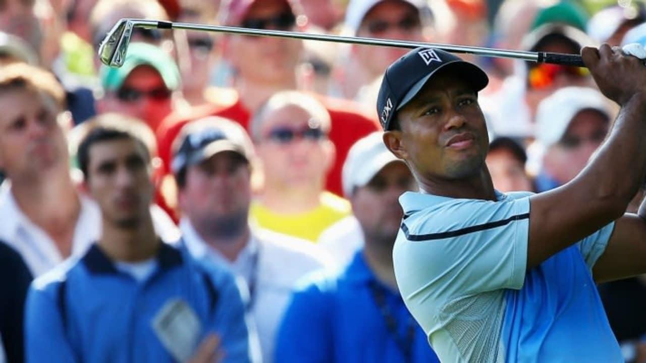 Tiger Woods nach Abschlag
