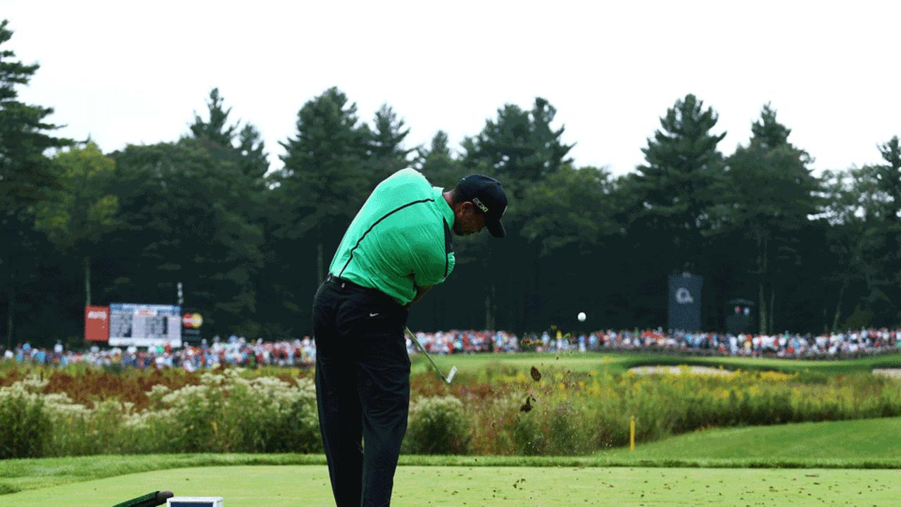 Tiger Woods bei der Deutschen Bank Championship
