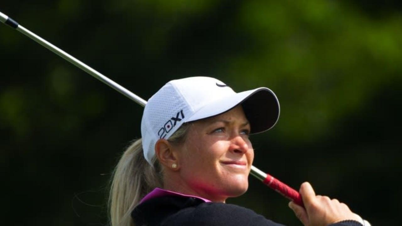 Die Norwegerin Suzann Pettersen ist weiterhin in Führung