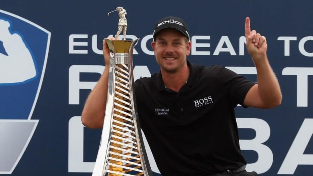 Henrik Stenson gewinnt die DP World Tour Championship und das Race to Dubai.