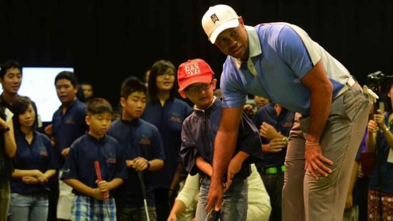 Promo statt Golfspielen: Tiger Woods