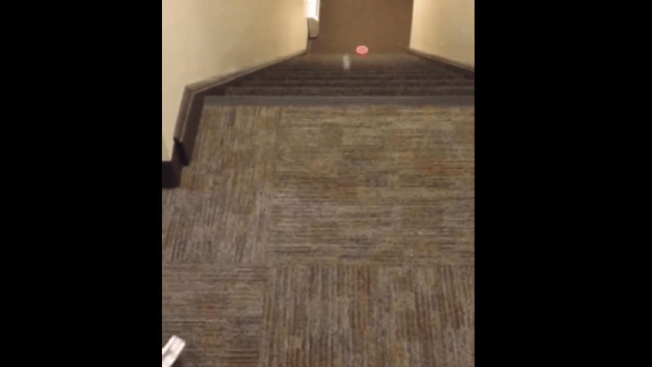 Der Treppen-Trick-Shot