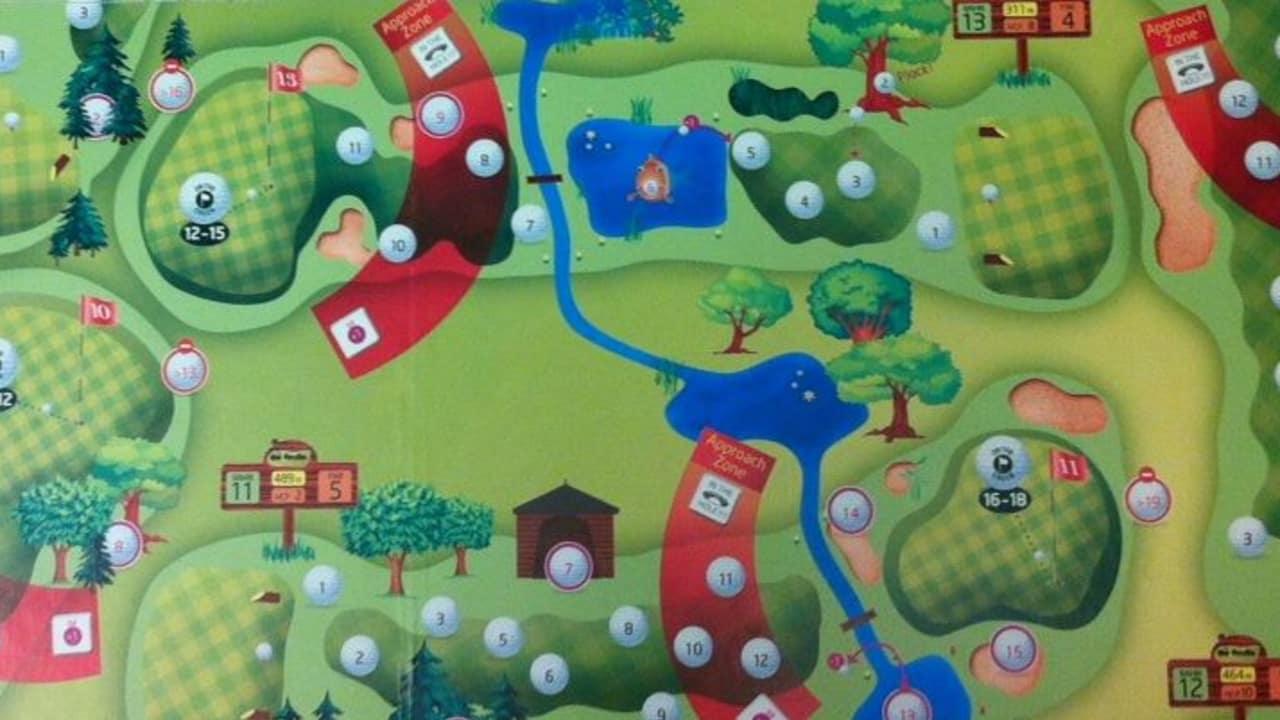 Das Brettspiel Golfville soll Abhilfe bei eisgen Temperaturen bieten und für Spaß im Wohnzimmer sorgen.