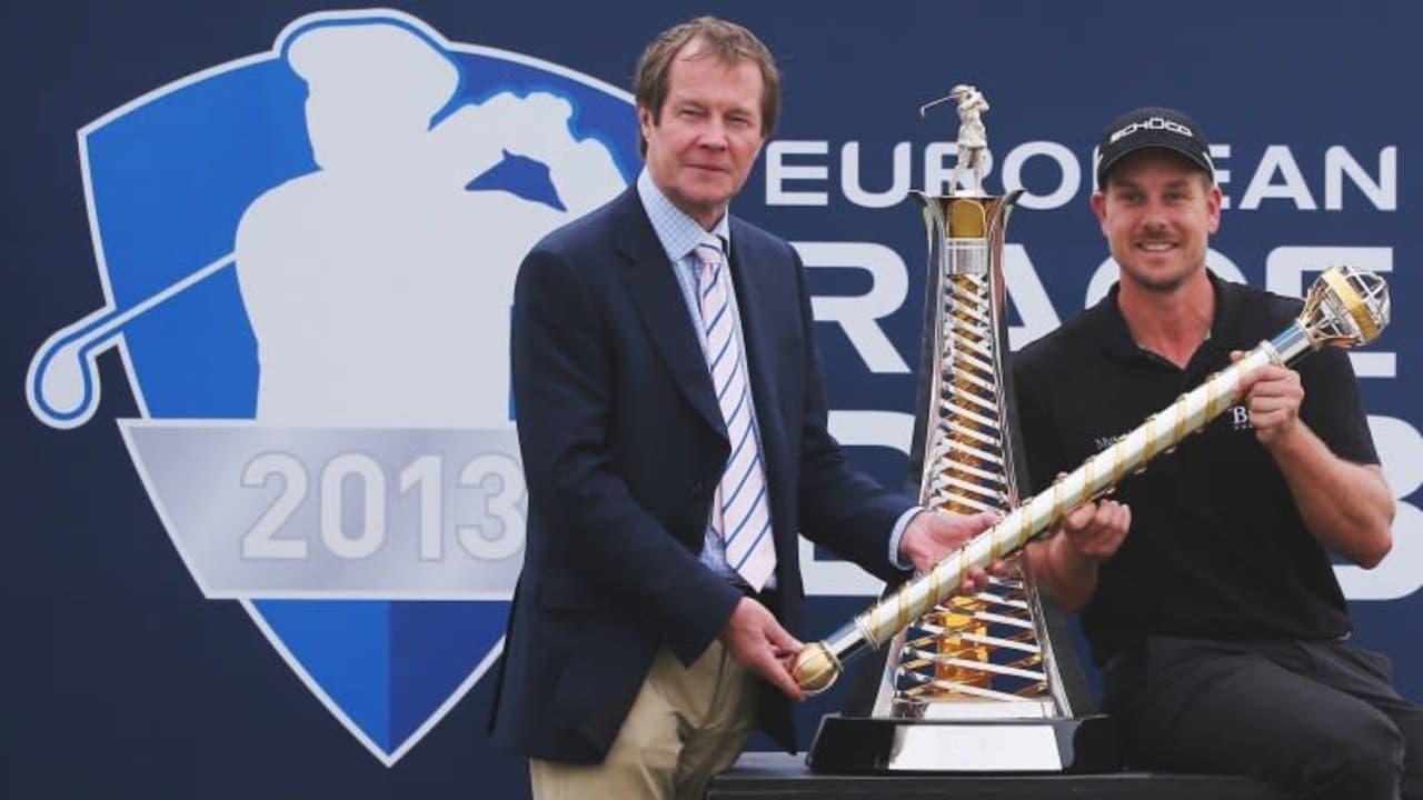 Henrik Stenson erhält die Auzeichnung für den besten Golfer der European Tour 2013 und hat jetzt Majors im Blick.