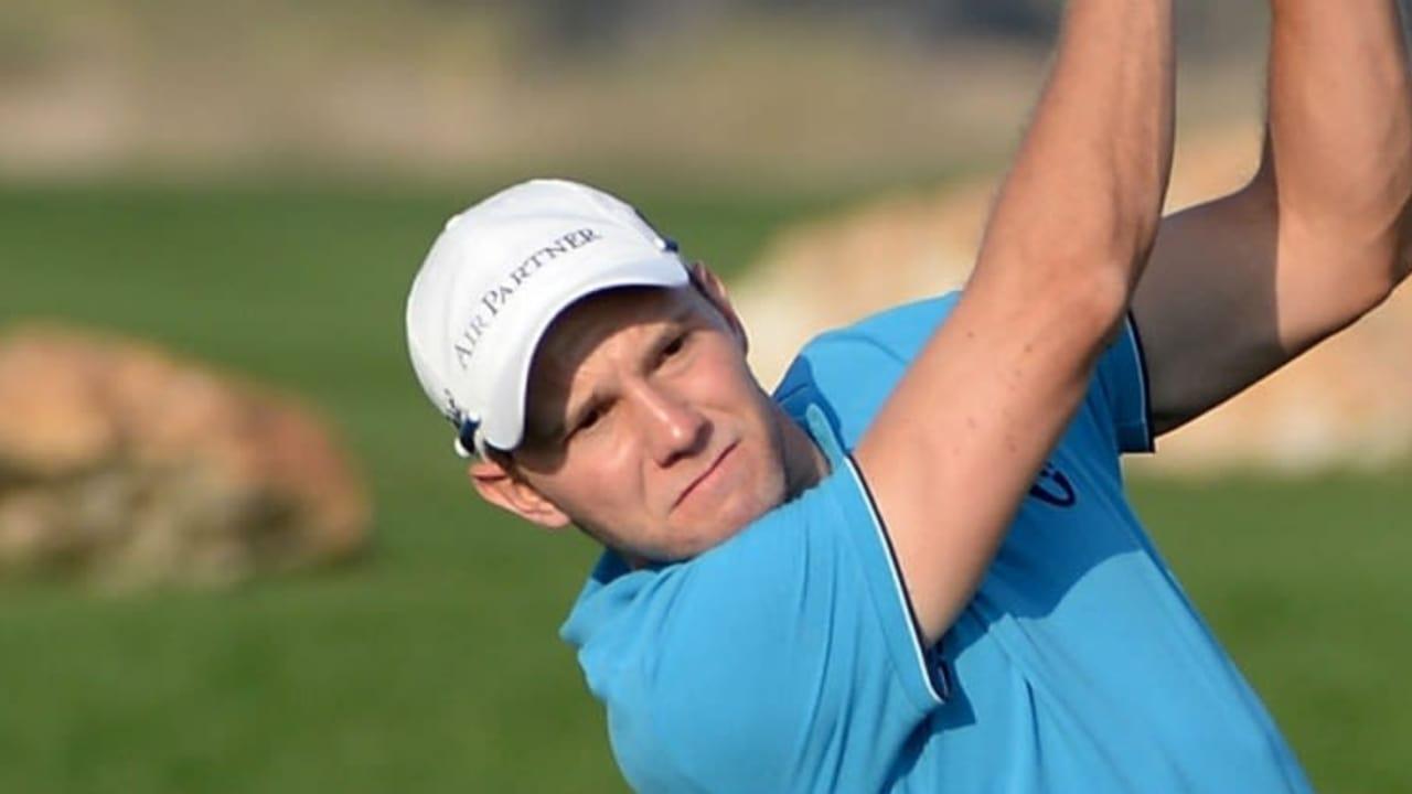 Maximilian Kieffer startete am ersten Tag mit einer 71er Runde in die Omega Dubai Desert Classic