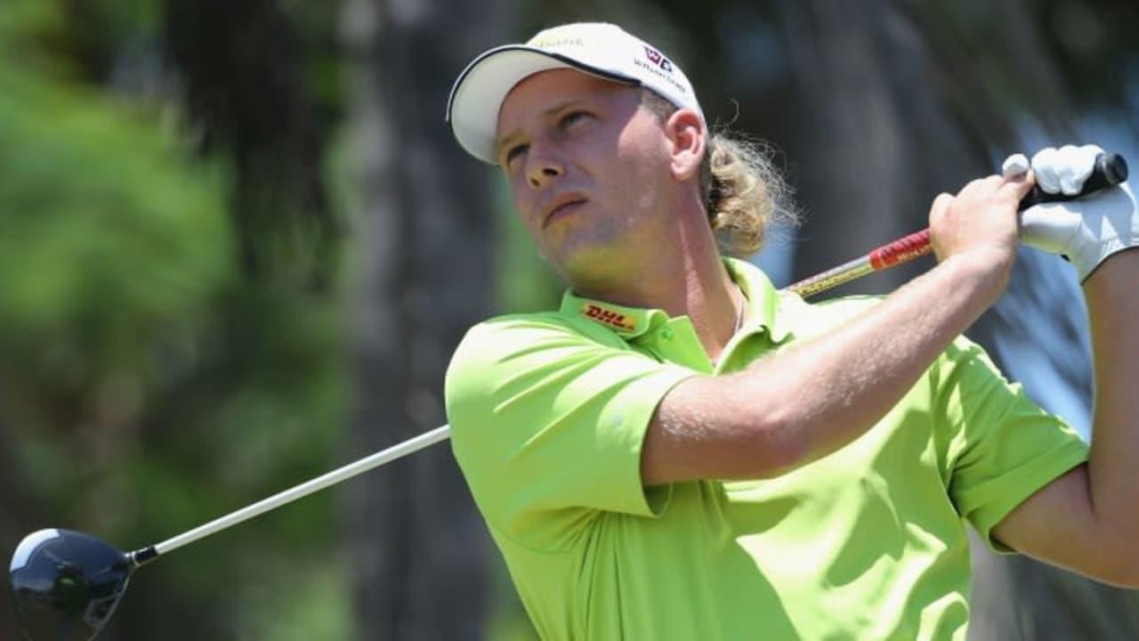 Marcel Siem bei der Volvo Golf Champions 2014