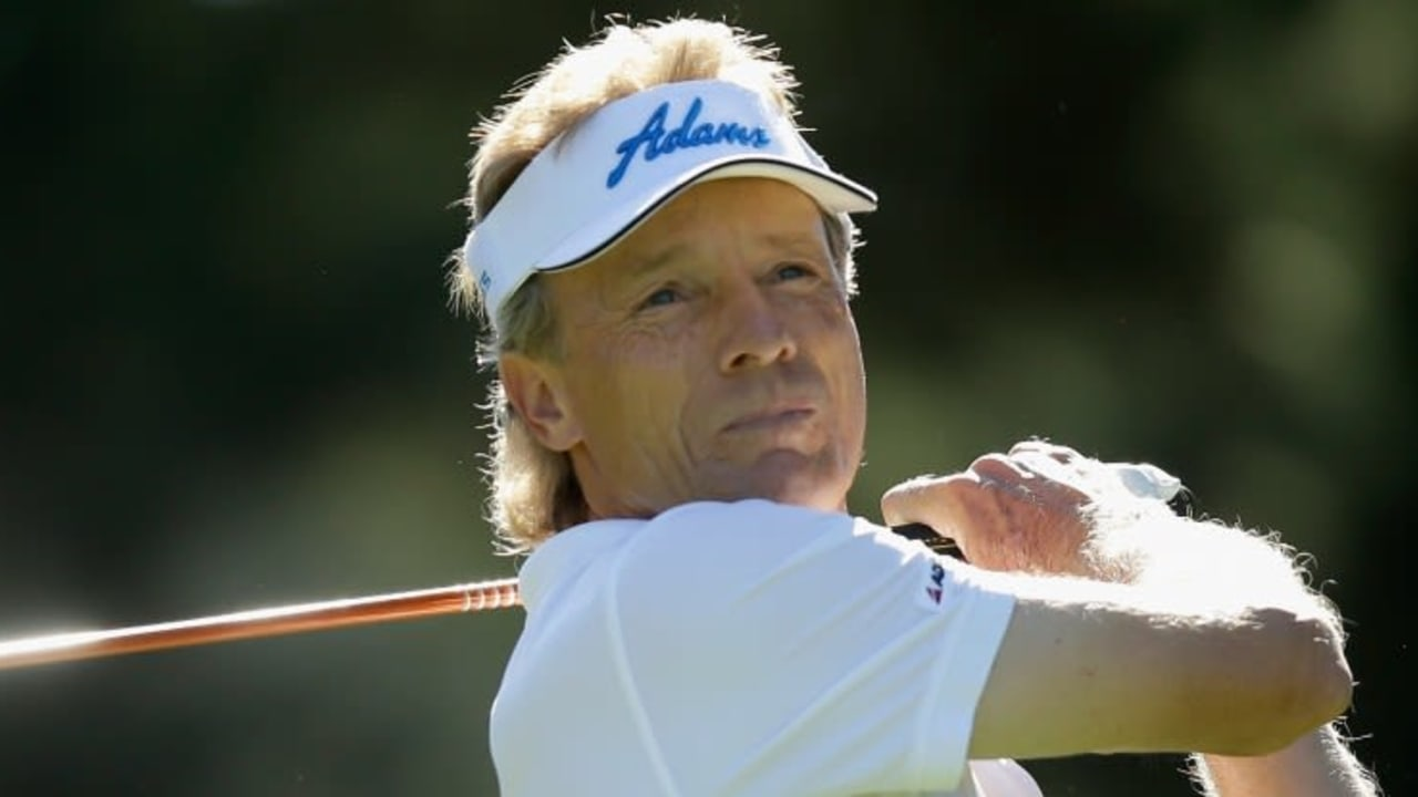 Bernhard Langer vergab mit einem Bogey am 18. Loch den Sieg bei der ACE Group Classic in Florida. (Foto: Getty Images)