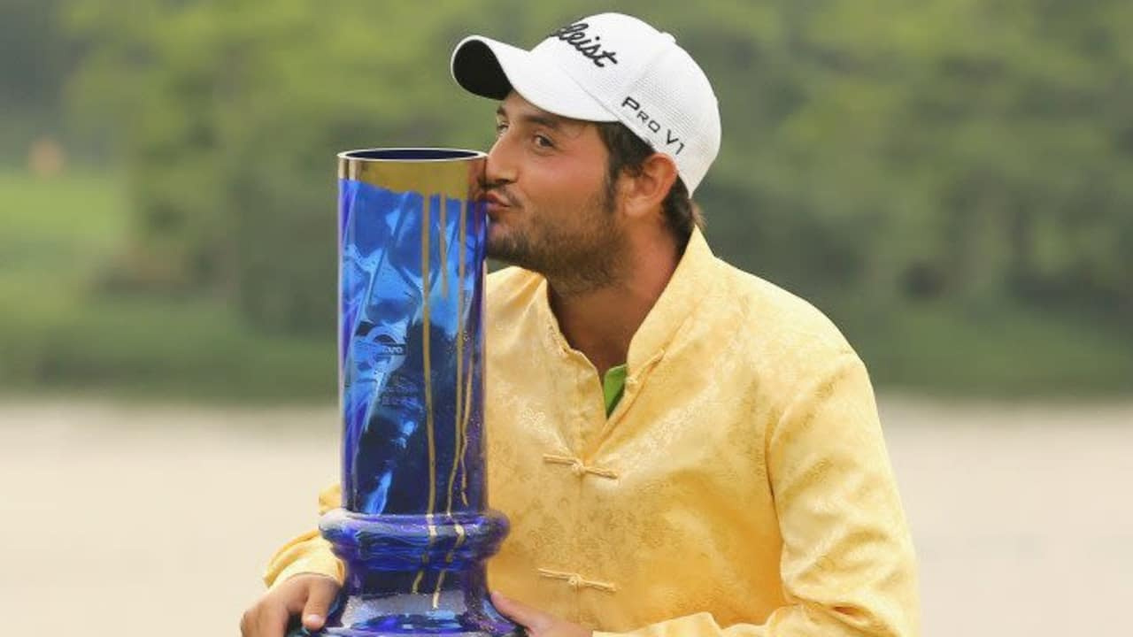 Alexander Levy bei der Volvo China Open 2014