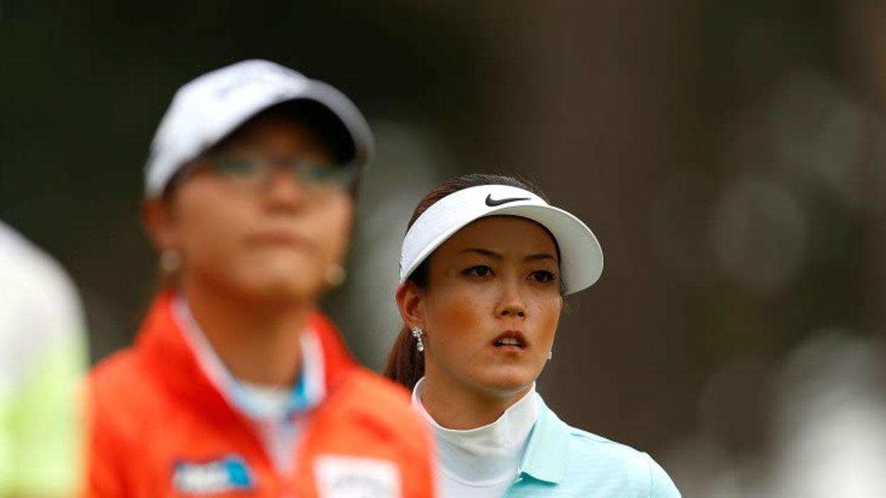 An Tag eins bleibt nur der Blick nach oben - Michelle Wie (T24) und Lydia Ko (T2) konnten Karine Icher an der Spitze nichts entgegensetzen. (Foto: Getty)