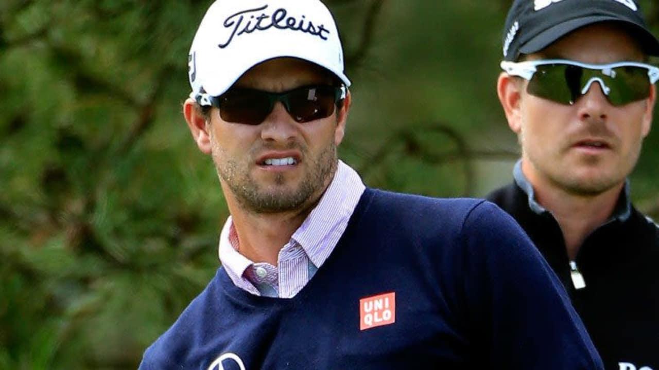 Aktuelle Nummer Eins und neue Nummer Eins? Henrik Stenson (r.) hat die Chance bei der BMW PGA Championship an Adam Scott in der Weltrangliste vorbeizuziehen.