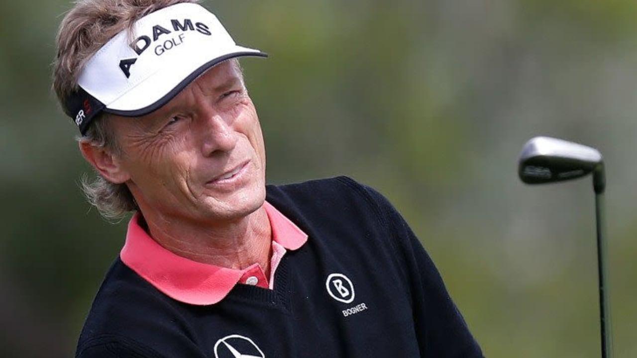 Bernhard Langer startete bei der Senior PGA Championship am ersten Tag mit einem Platz in den Top 20.