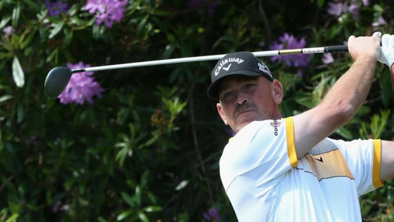 Thomas Björn bei der BMW PGA Championship 2014