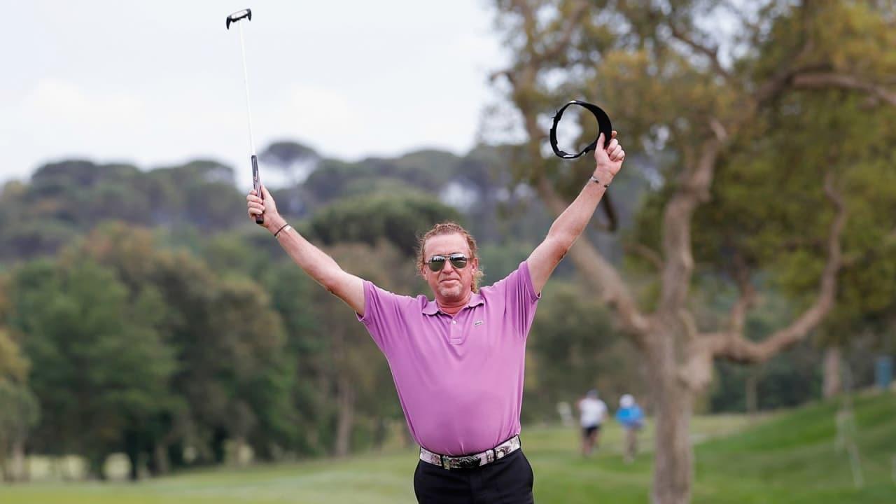 Heimsieg für Miguel Angél Jiménez! Der Spanier gewann die Open de España im Stechen.