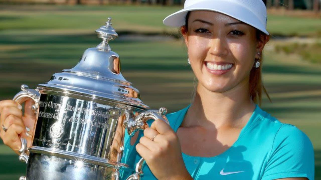 Michelle Wie holte sich die US Women's Open und damit das zweite Major des Jahres.