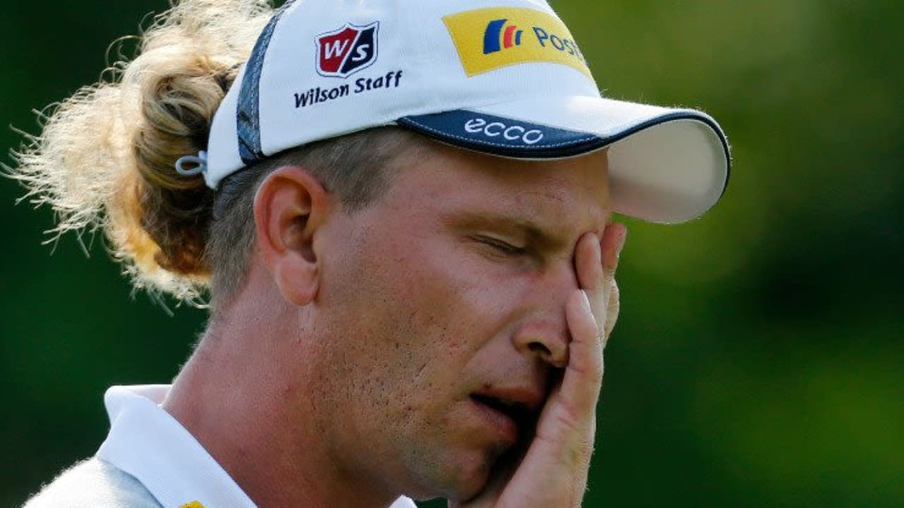 Wie gewonnen, so zerronen - Marcel Siem patz in Runde zwei der Irish Open. (Foto: Getty)