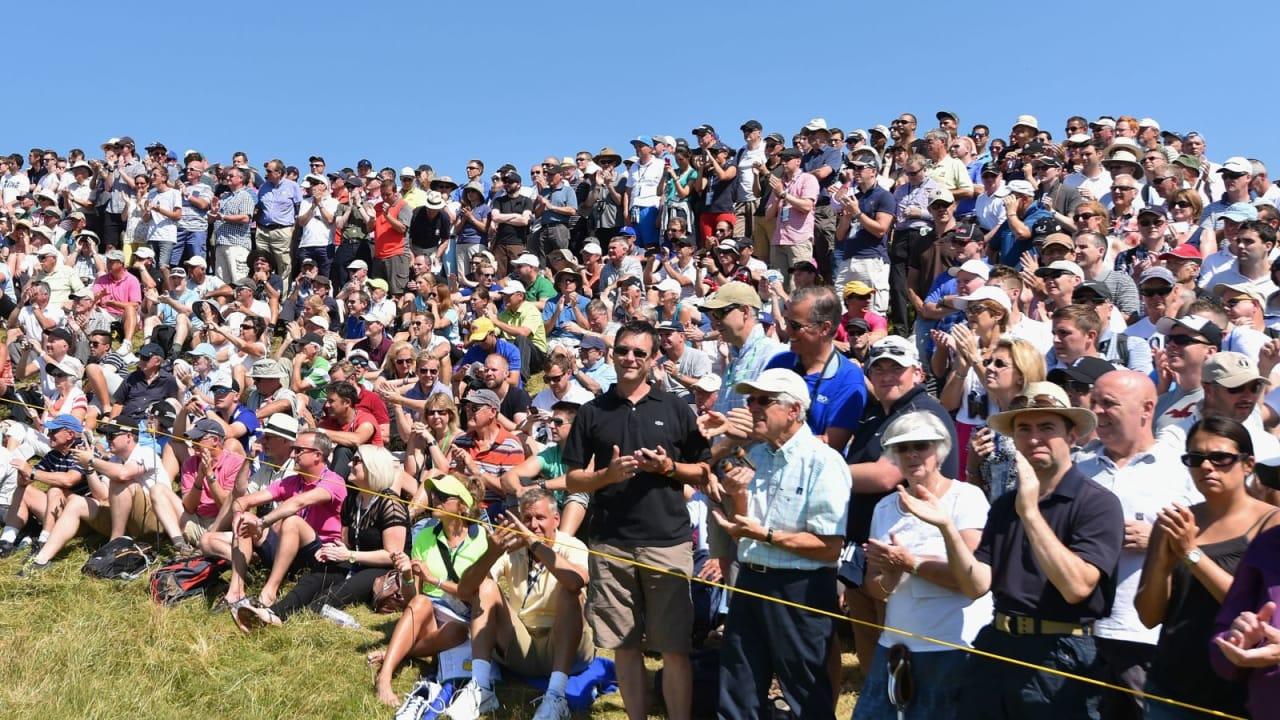 Für die Zuschauer waren die British Open ein Fest. Genau wie der Golf Post Talk! (Foto: Getty)