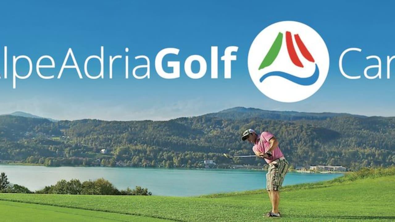 Mit der Alpe Adria Card haben Sie die Möglichkeit verschiedene Plätze zu spielen. (Foto: Alpe Adria Golf)