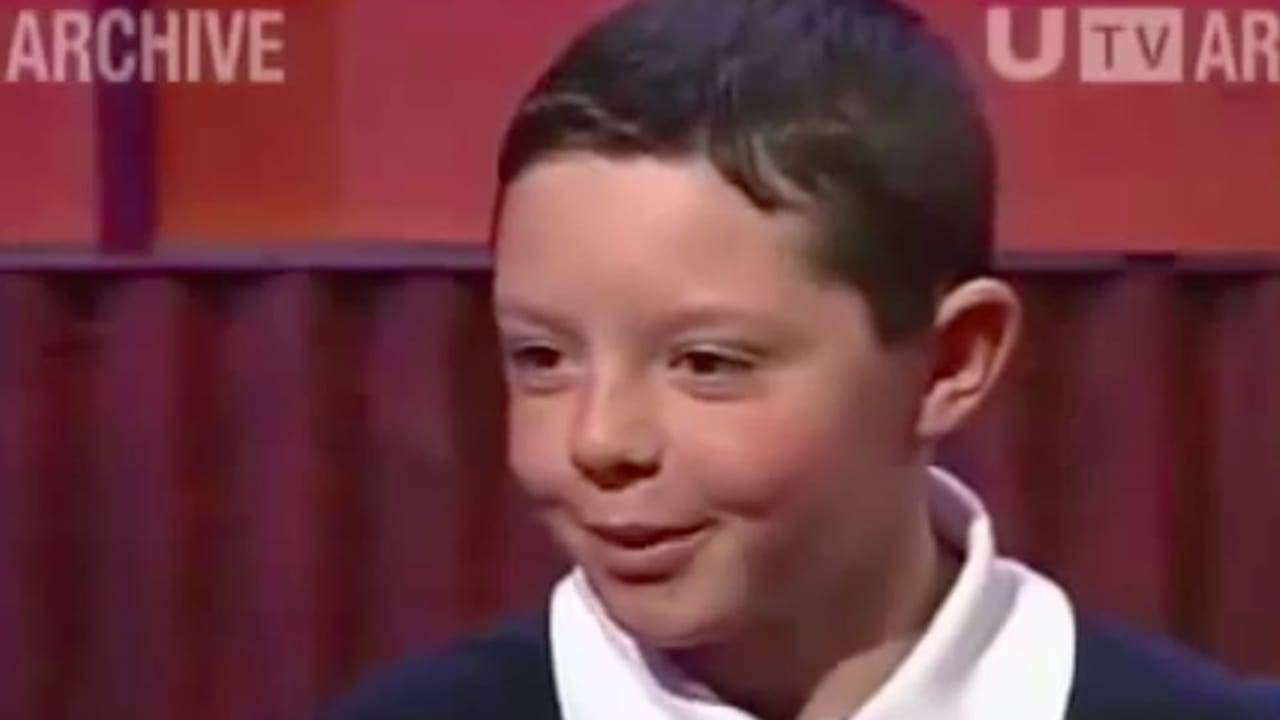 Young Rory McIlroy TV