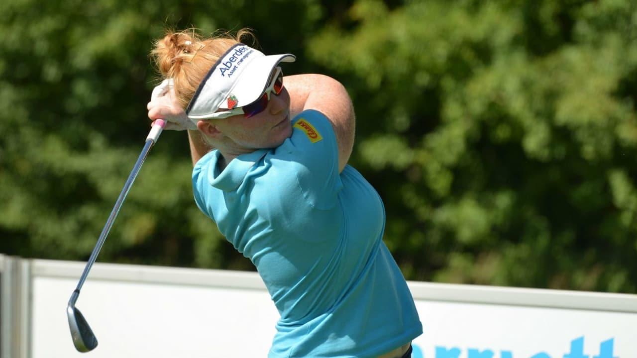 Kylie Walker verteidigte mit einer weiteren 64er Runde erfolgreich die Führung bei der Ladies German Open. (Foto: Klaus J. Wäschle)