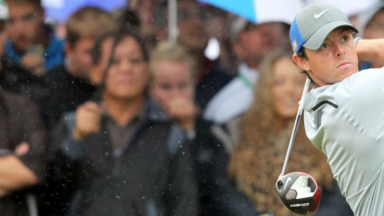 Rory McIlroy führt auch am dritten Tag der British Open. (Foto: Getty)