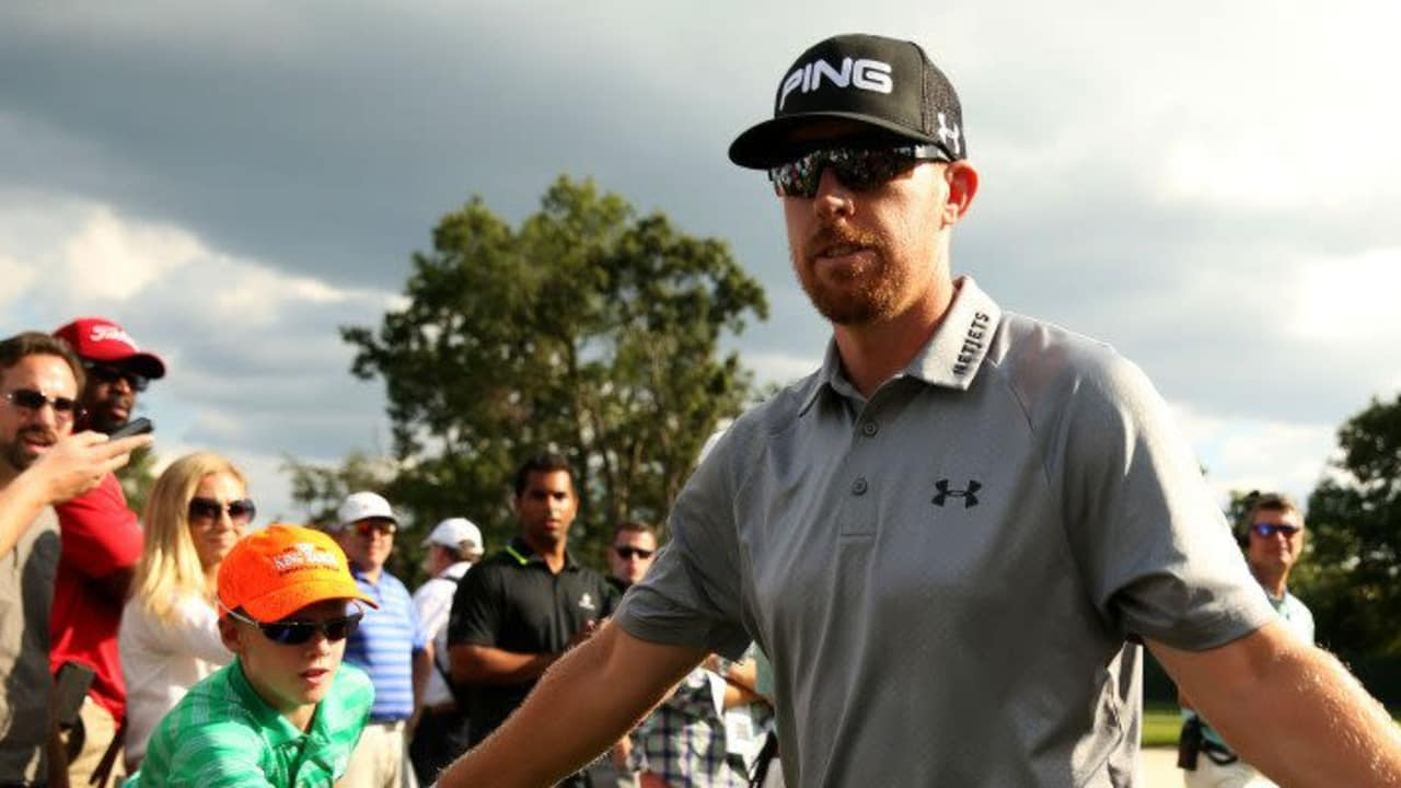 Hunter Mahan bei The Barclays 2014