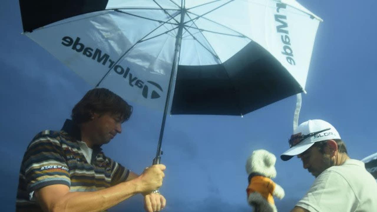 Fritz-Walter-Wetter im Urlaubsland - Was Golffans in Schottland erspart blieb, kommt in Portugal nun doppelt runter. (Foto: Getty)