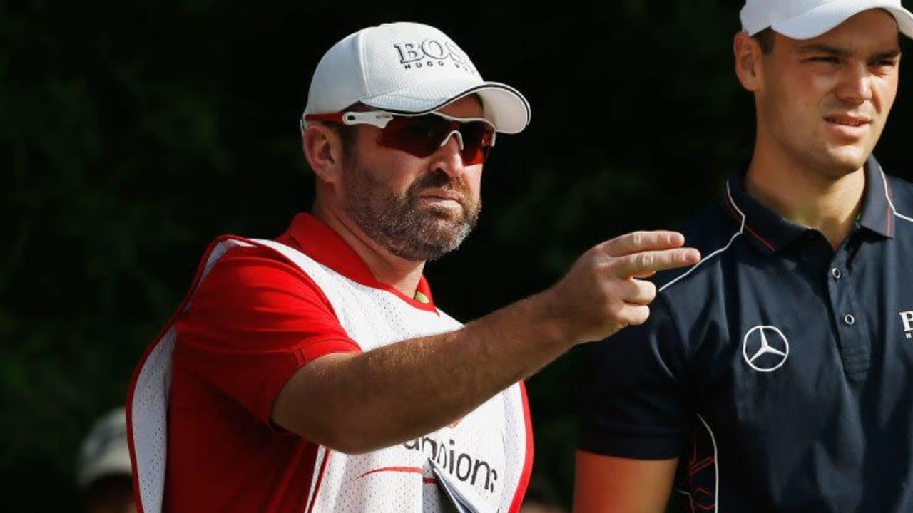 Caddies wie Craig Connelly an der Seite von Martin Kaymer haben einen verantwortungsvollen Job und sind mitnichten nur Taschenträger.