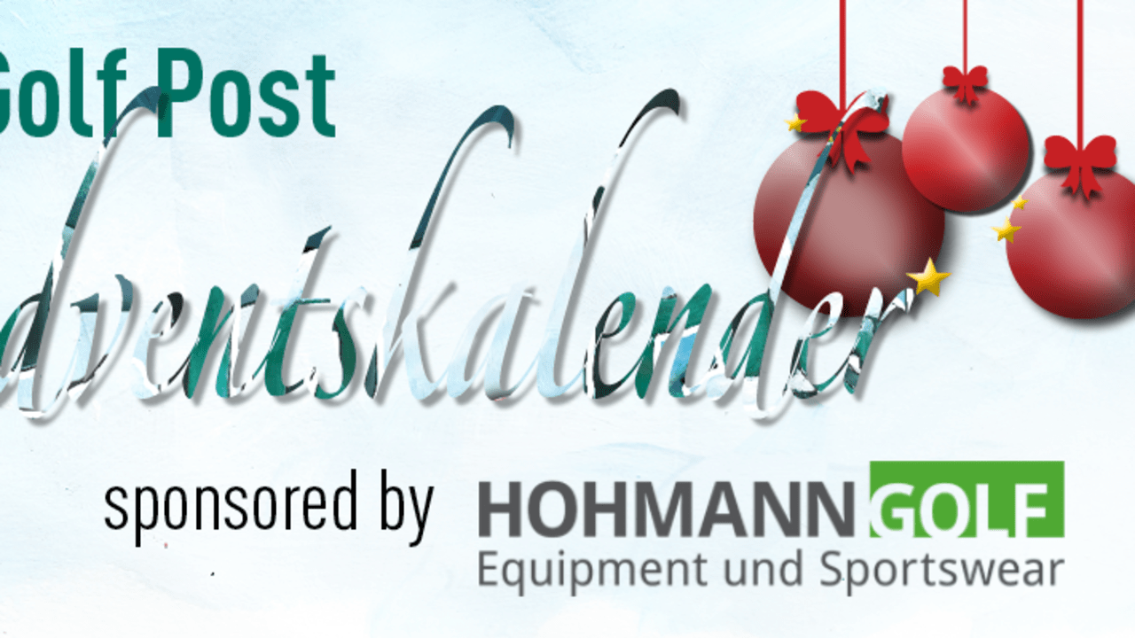 Hohmann Golf Sport ist Presenting-Partner des Golf Post Adventskalenders 2014 (Foto: Golf Post)